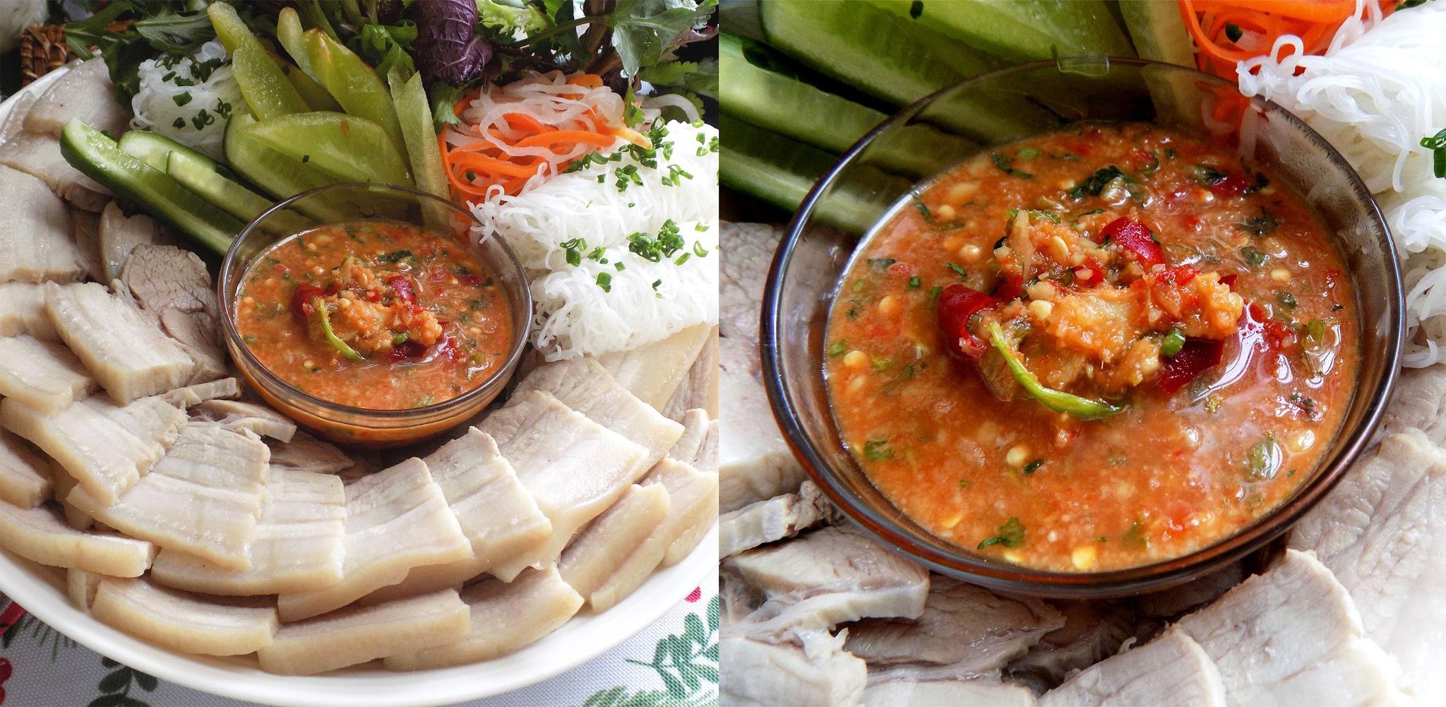 Công thức pha nước chấm thịt luộc chua ngọt chuẩn vị Thái ngon đậm đà