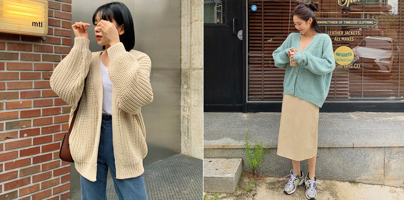 Diện 5 công thức mặc cardigan này đảm bảo bạn xinh yêu như gái Hàn