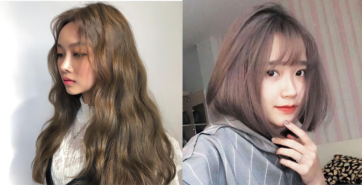 5 màu tóc nâu rêu cực xinh chị em ngắm thì chỉ muốn chạy ngay ra tiệm