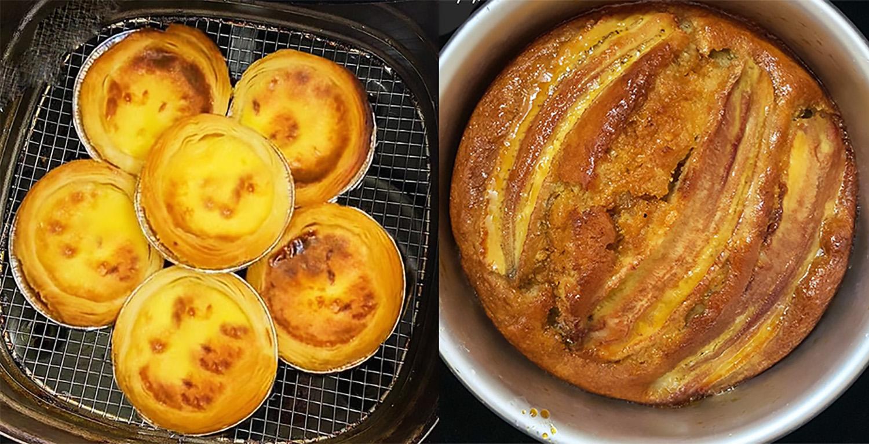5 công thức làm bánh với nồi chiên không dầu, đơn giản nhanh chóng mà thơm ngon hết ý