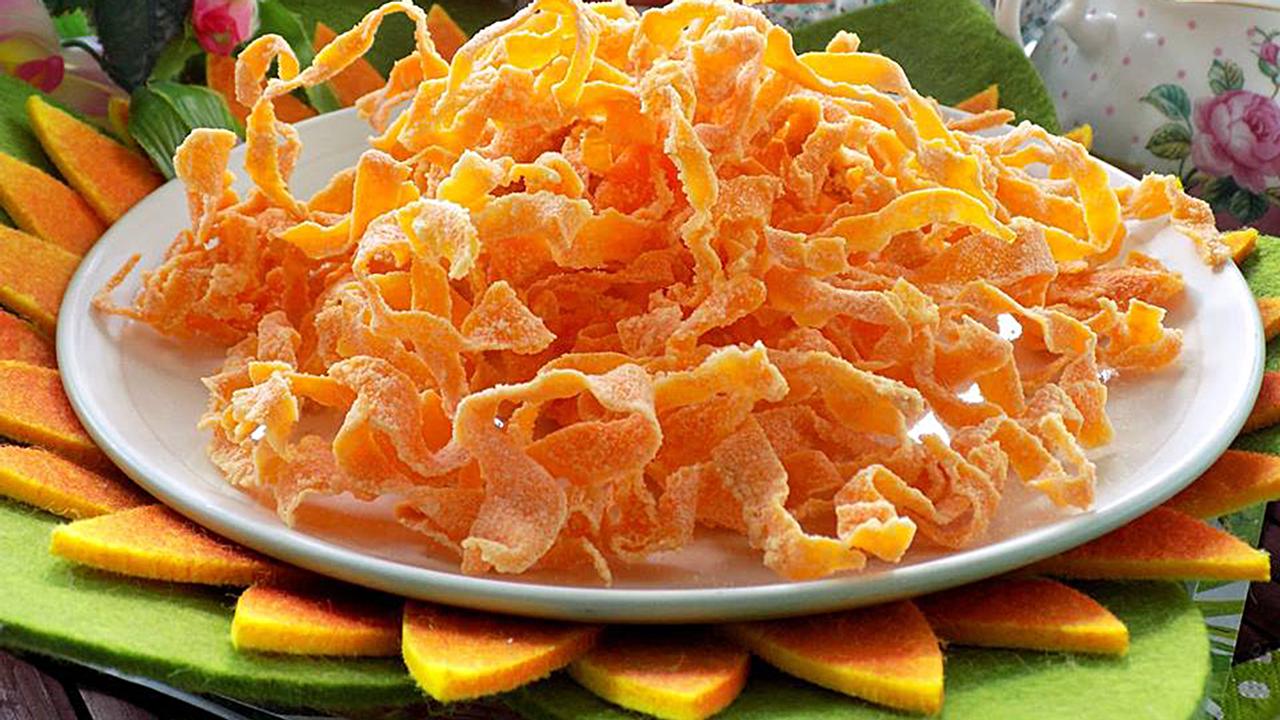 Vừa ngon vừa an toàn với cách làm mứt cà rốt không cần vôi