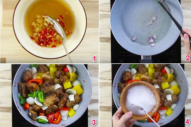 Cách làm sườn xào chua ngọt ngon nhất, đậm đà đưa cơm