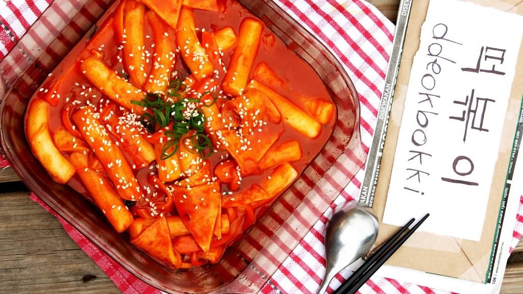 Tokbokki ngon đúng chuẩn vị Hàn Quốc