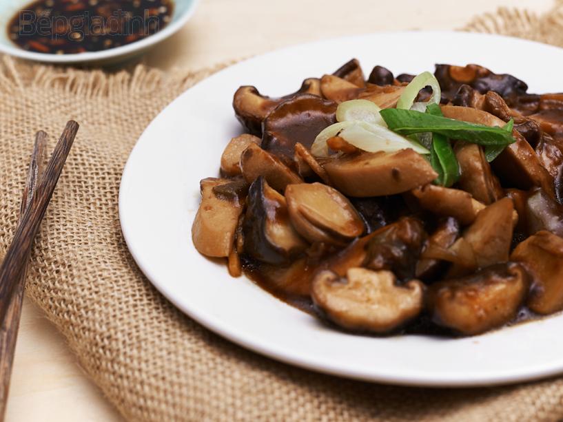 Hết veo cơm với cách làm nấm kho chay ngon