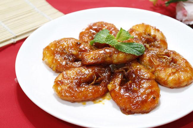 Chua chua ngọt ngọt món tôm sốt tương cà siêu hấp dẫn