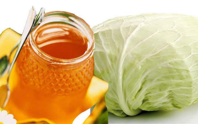 Trị ho do viêm phế quản chỉ bằng mật ong và bắp cải