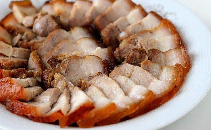 Cách làm thịt lợn rán thơm ngon bao nhiêu cơm cũng hết