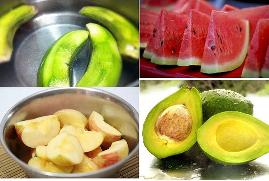 Mẹo giữ hoa quả tươi lâu sau khi gọt vỏ