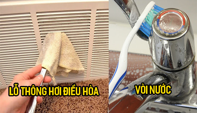 10 cách dọn dẹp sạch sành sanh các vết bẩn cứng đầu mọi ngóc ngách