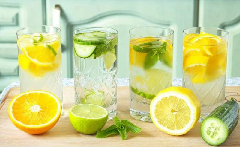 5 công thức nước detox thanh lọc cơ thể tại nhà