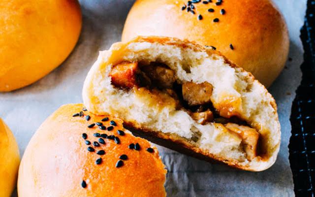 Cách làm bánh bao xá xíu chay siêu ngon