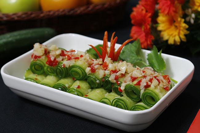Salad dưa chuột chua cay chống ngán hiệu quả