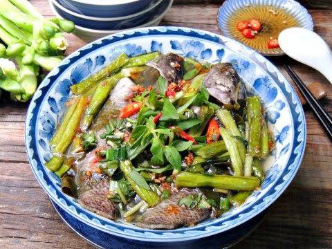 Canh chua cá rô đồng nấu lá giang ngọt mát cho mâm cơm buổi tối
