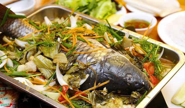 Công thức chuẩn cho món cá chép om dưa thơm ngon