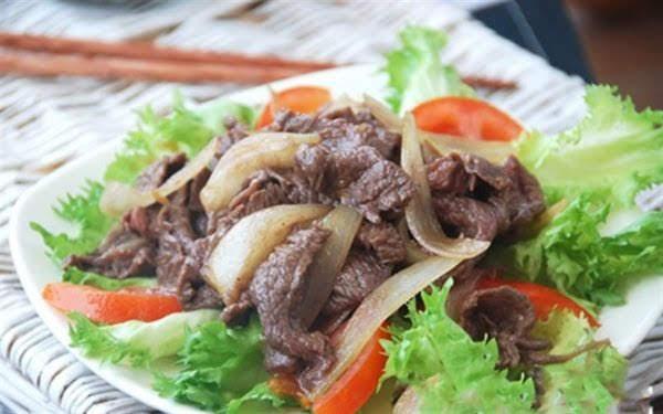 Cách làm thịt bò xào hành tây thơm ngon, bổ dưỡng
