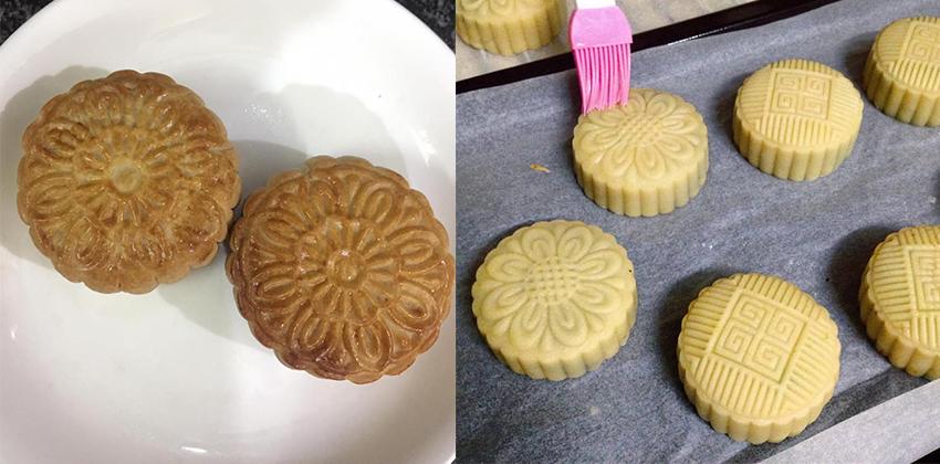 Làm bánh trung thu không cần lò nướng – tưởng khó mà lại cực dễ