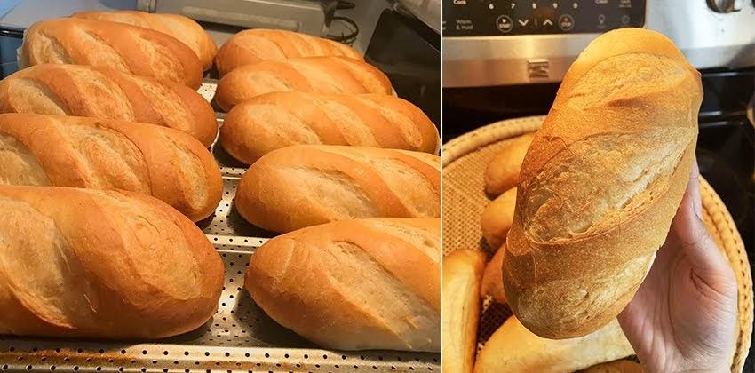 Cách làm bánh mì Việt Nam giòn ngon bất bại