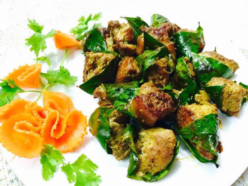 Xuýt xoa với thịt cuộn lá mắc mật nướng thơm ngon, hấp dẫn