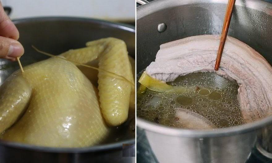 Muốn thịt luộc mềm thơm, không bị hôi, mẹ học ngay 4 cách luộc thịt đúng cho từng loại thịt