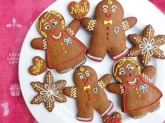 Cách làm bánh quy gừng cho lễ Giáng sinh ấm áp
