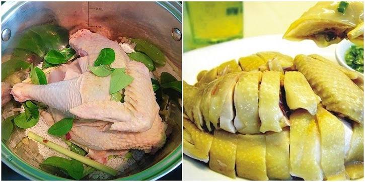 Luộc gà với nước 'xưa rồi', mẹ chỉ cần dùng lá chanh và muối đảm bảo gà luộc vàng ươm, đậm vị