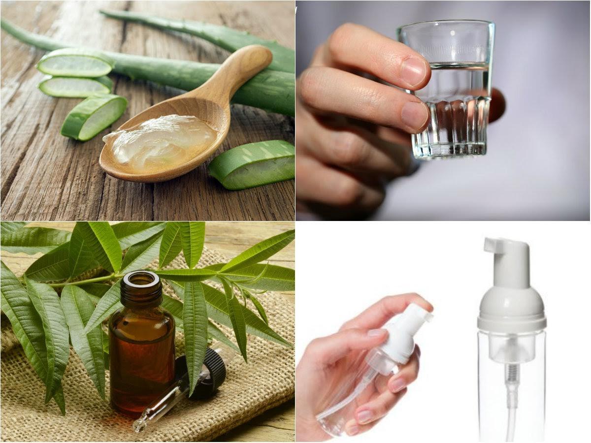 Tự làm nước rửa tay khô diệt khuẩn tại nhà dễ dàng