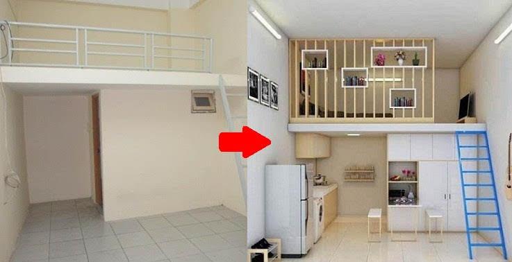 Phòng trọ 20m2 chẳng khác gì căn hộ cao cấp khi được thiết kế lại