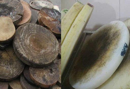Thớt gỗ dùng lâu bị thâm đen, có mùi, vi khuẩn tích tụ, mẹ dùng ngay 3 nguyên liệu quen thuộc để rửa trắng sạch như mới
