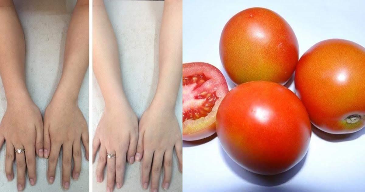 Chấm cà chua vào chén bột nghệ, công thức vi diệu thổi bay làn da sần sùi đen nhẻm