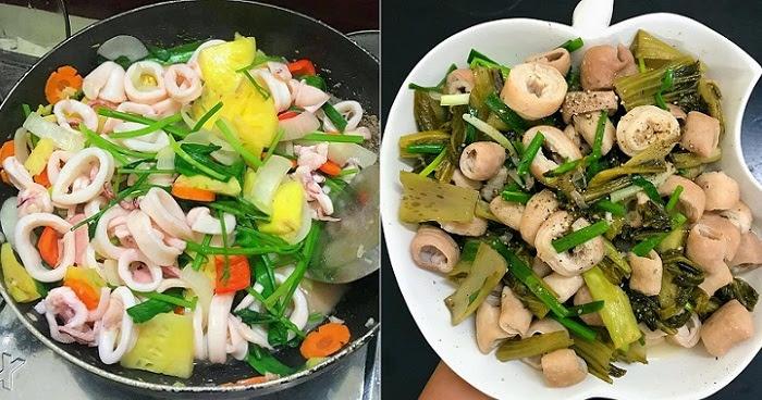 Mách mẹ 20 công thức nấu các món xào đơn giản, thơm ngon – Phần 1