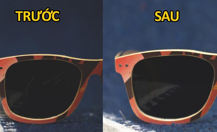 Khỏi tốn tiền mua mới, đây là 4 cách làm mờ vết xước trên mắt kính hiệu quả nhất