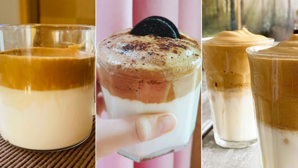 """Tập tành pha chế cà phê bọt biển Dalgona đang được chia sẻ """"chóng mặt"""" trên MXH"""
