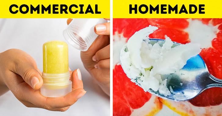 10 chất khử mùi cơ thể tự nhiên mà bạn có thể làm tại nhà