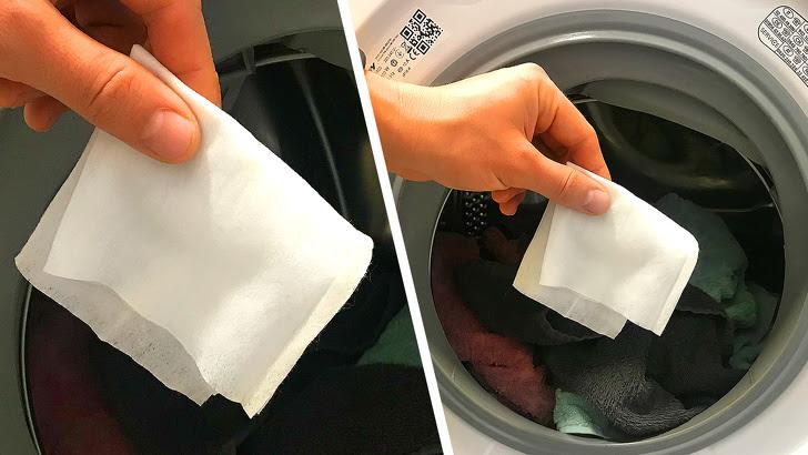 Tại sao cho khăn ướt vào trong máy giặt có thể giúp bạn tiết kiệm cả tấn thời gian
