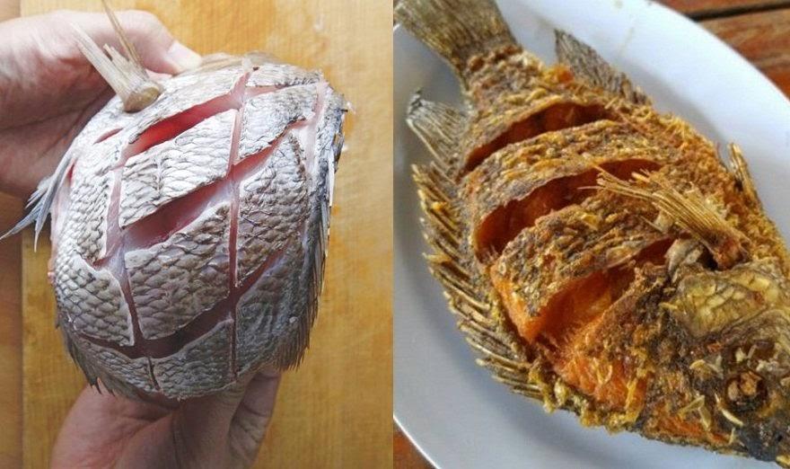 Tuyệt chiêu chiên cá vàng giòn, thơm ngon mà không bao giờ bị bắn dầu tứ phía hay dính chảo