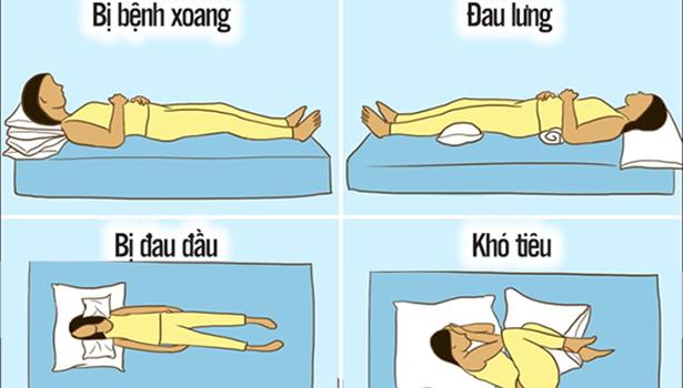 8 tư thế ngủ chuẩn chuyên gia hướng dẫn giúp bạn đẩy lui bệnh tật