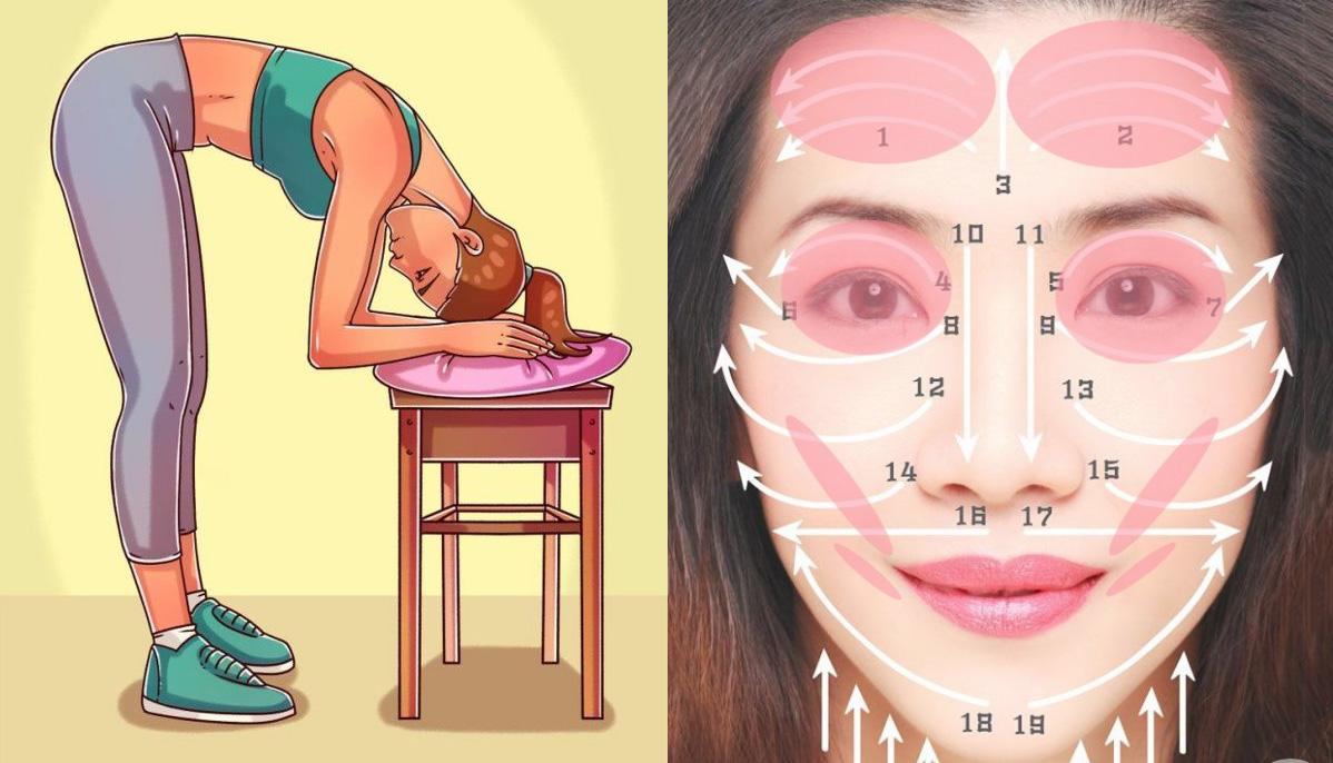 Dốc ngược đầu: Nghe kỳ lạ nhưng lại mang nhiều lợi ích cho nhan sắc