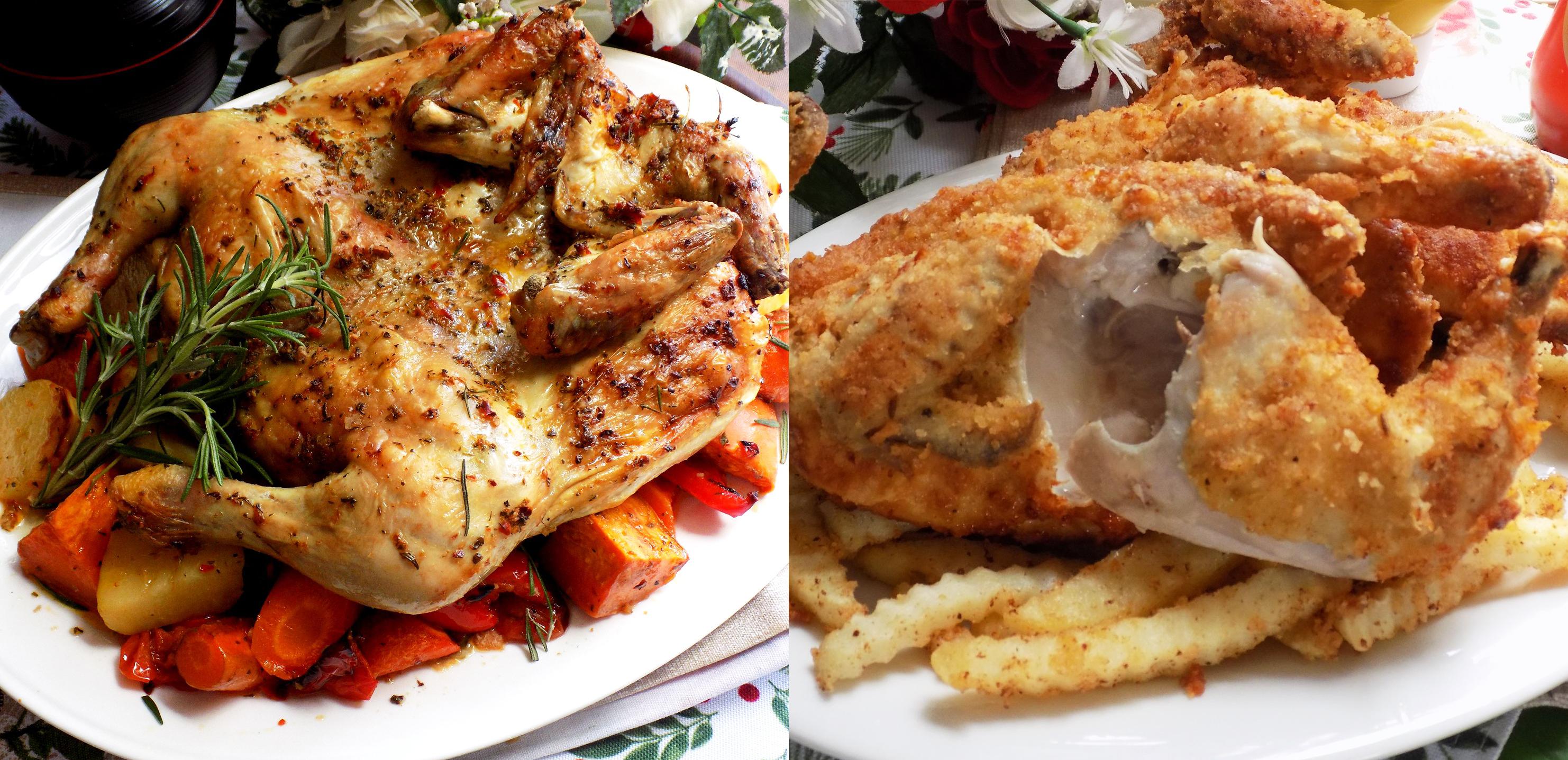 2 công thức gà chiên nướng giòn ngon đậm vị cực ngon