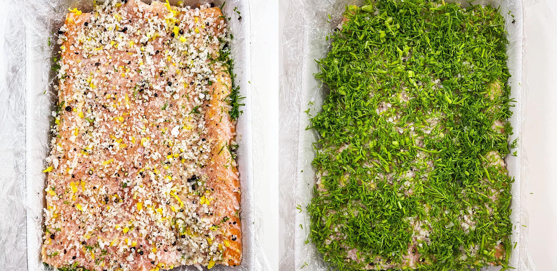 Công thức làm cá hồi muối siêu ngon tại nhà