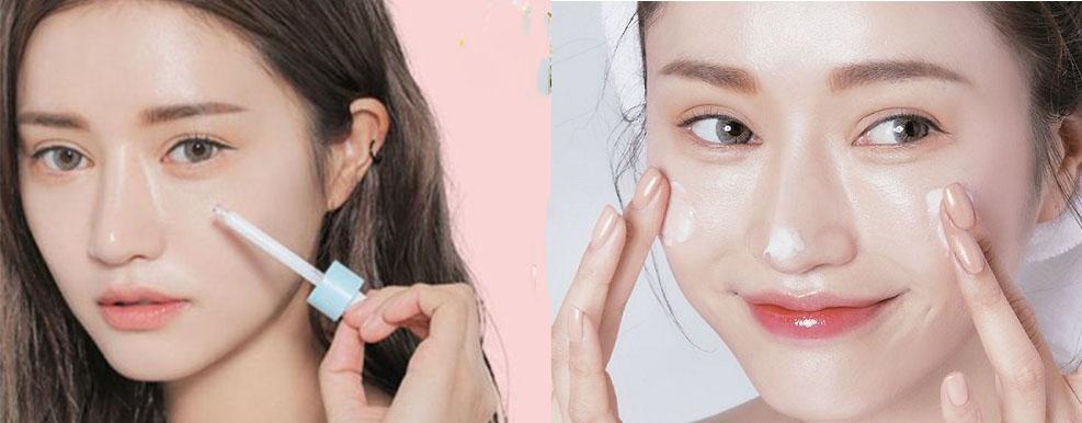 Làn da được cải thiện căng mịn hơn khi áp dụng 4 bước dưỡng da này
