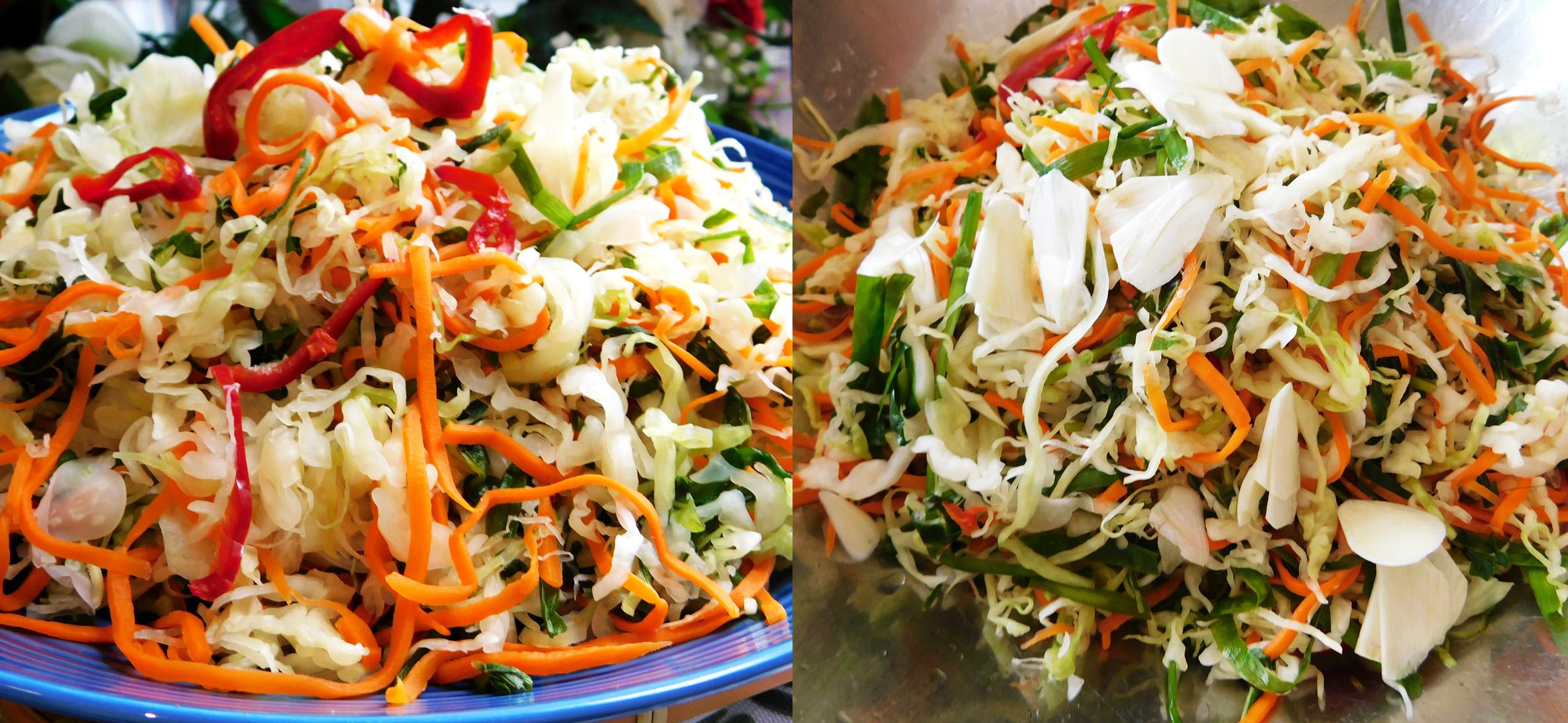 2 cách muối dưa bắp cải giòn ngon, chua dịu và không bị úng