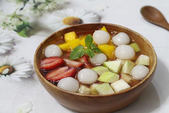 """Chè hoa quả trân châu vừa ngon vừa mát lại quá đẹp để """"sống ảo"""""""