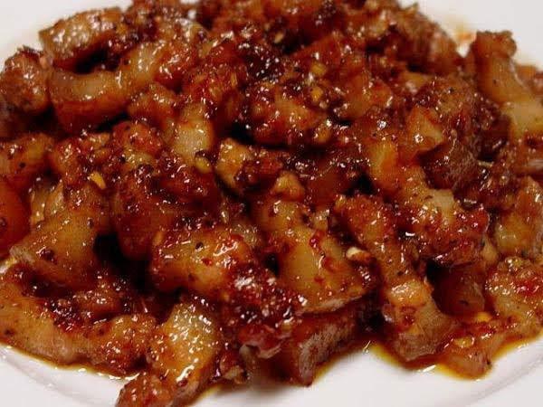 Thịt kho ruốc sả thơm ngon dễ làm