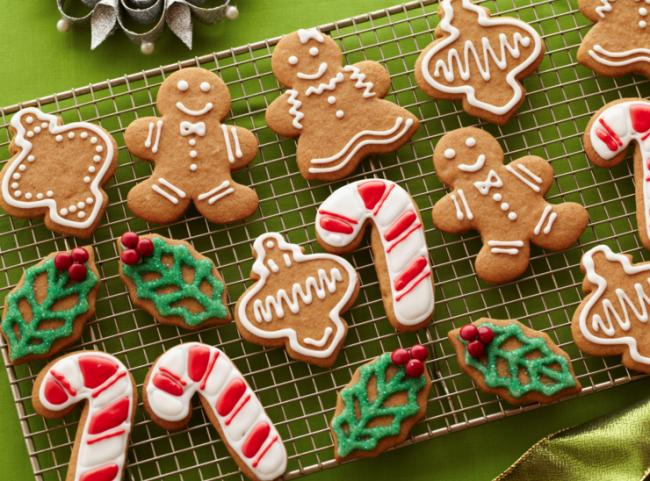 Công thức bánh quy gừng cho lễ Giáng Sinh thêm thú vị