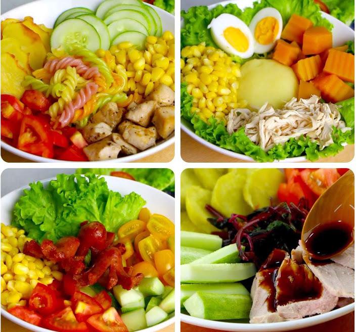4 món salad ăn kiêng đơn giản, dễ thực hiện