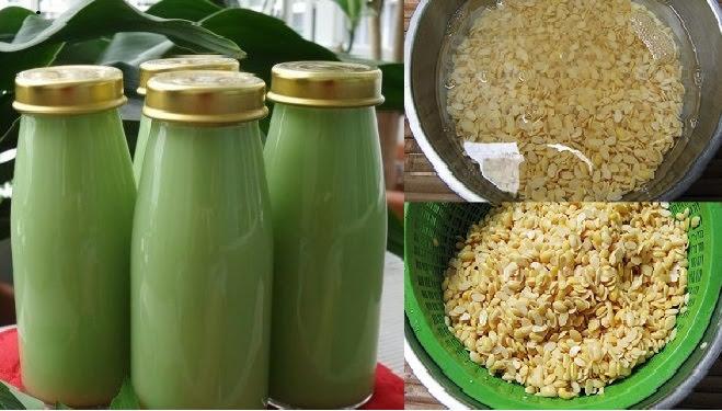 Cách làm sữa đậu xanh lá dứa siêu thơm mát, giúp mịn da đẹp dáng suốt mùa hè