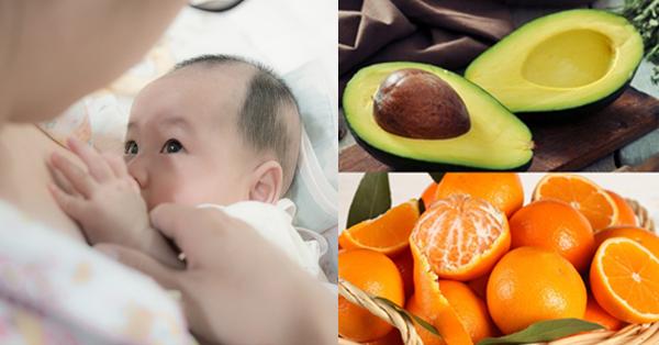 Nếu không muốn bé bị tiêu chảy, còi cọc, mẹ chớ nên ăn 4 hoa quả này khi cho con bú