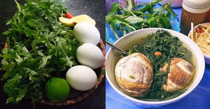 Cách hầm trứng vịt lộn ngải cứu giúp người gầy tăng cân nhanh sau 1 tuần, lại chữa mất ngủ, đau đầu