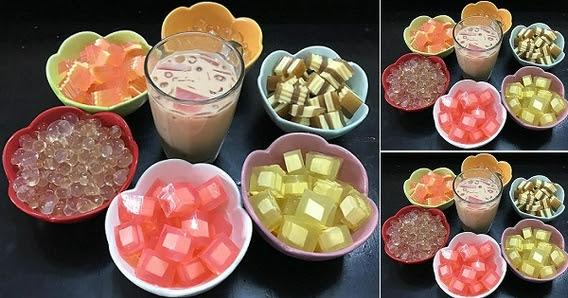 Tự làm trà sữa và các loại thạch dẻo ngon tại nhà