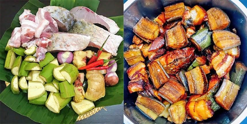 Cách làm cá kho chuối riềng đậm đà, đơn giản mà đưa cơm